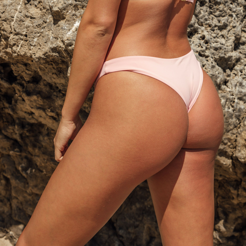Heather Bottom - Blush Pink