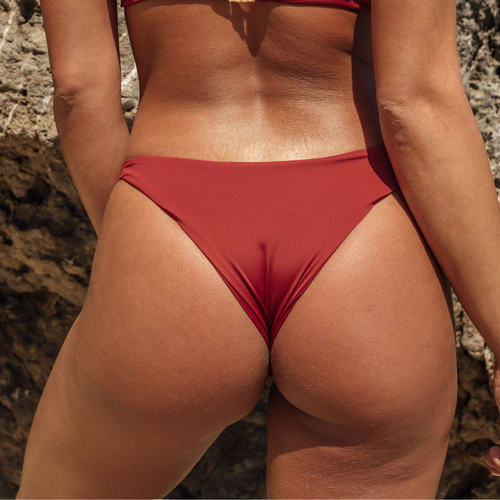 Heather Bottom - Rust Red