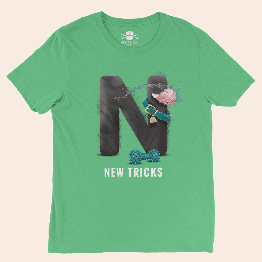 "Al-Fur-Bet - Black ""N"" - Personalized T-shirt - New Tricks Clothing"