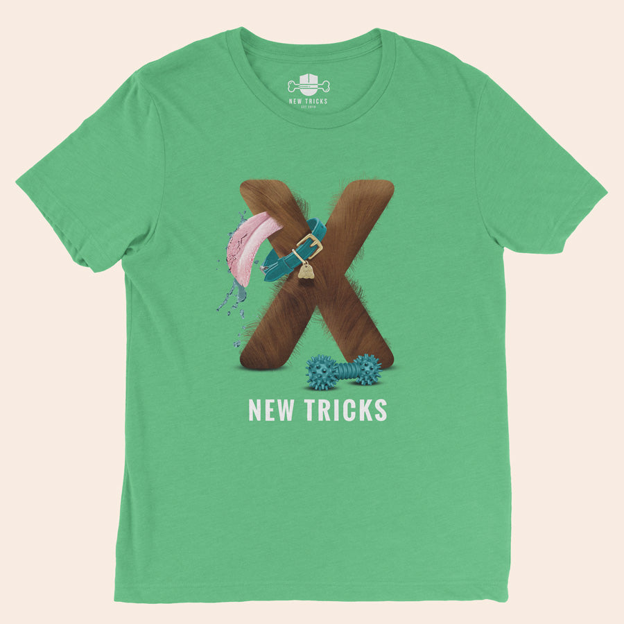 "Al-Fur-Bet - Brown ""X"" - Personalized T-shirt - New Tricks Clothing"
