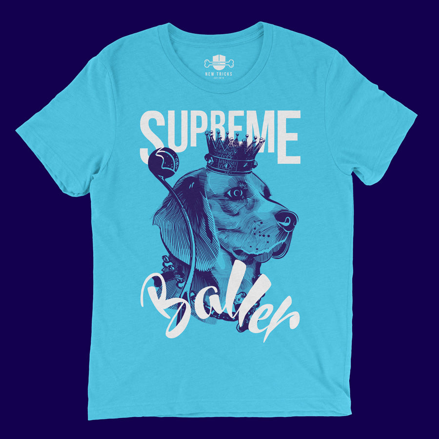Baller Collection - Beagle - T-shirt - New Tricks Clothing
