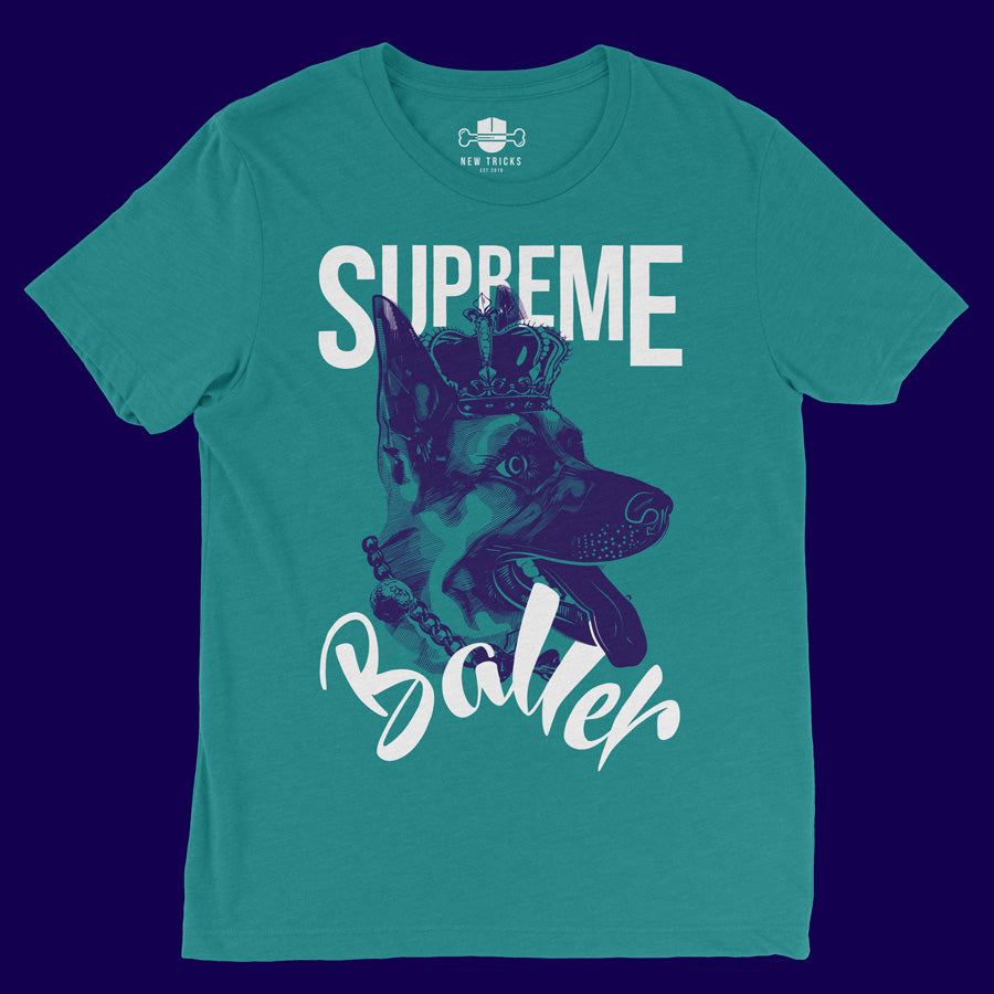 Baller Collection - German Shepherd - T-shirt - New Tricks Clothing