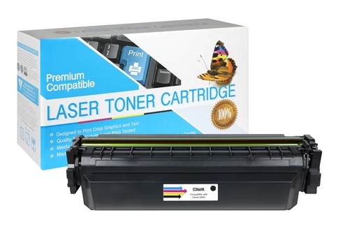 Compatible Canon 1254C001AA (046H)  High Yield Black Toner Cartridge