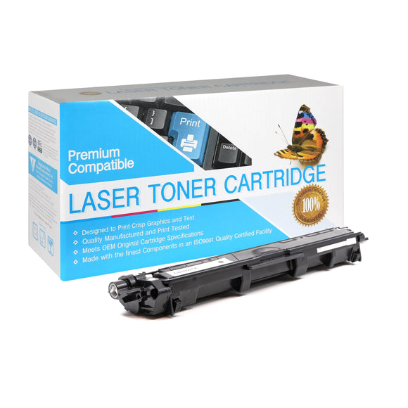 Compatible  Brother TN221 Black Toner Cartridge (TN-221) - Brooklyn Toner