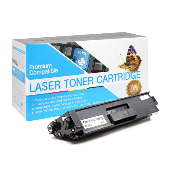 Compatible Brother TN336BK Black Toner Cartridge (TN-336) - Brooklyn Toner