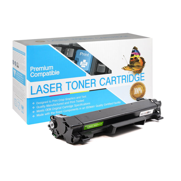 Compatible Brother TN760 Black Toner Cartridge (TN-760) - Brooklyn Toner