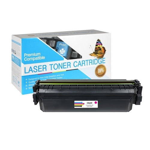 Compatible Canon 1252C001AA (046H) High Yield Magenta Toner Cartridge