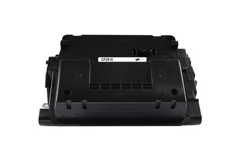 CF281X Black Toner Cartridge compatible with the HP 81X