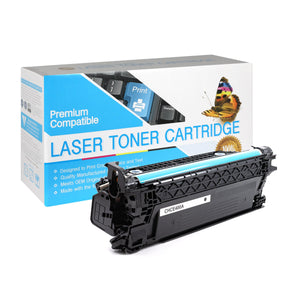 Compatible HP CE400A Black Toner Cartridge (507A) - Brooklyn Toner