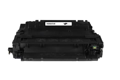 CE255A Black Toner Cartridge compatible with the HP (HP55A)