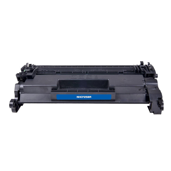 Compatible HP CF258A Black Toner Cartridge (HP 58a) - Brooklyn Toner