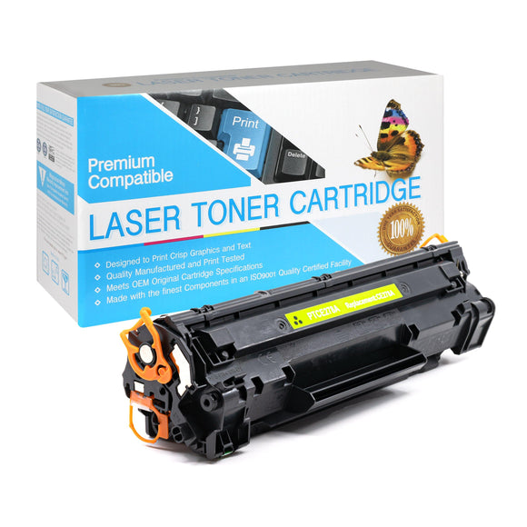 Compatible HP CE278A Black Laser Toner Cartridge (HP 78A) - Brooklyn Toner