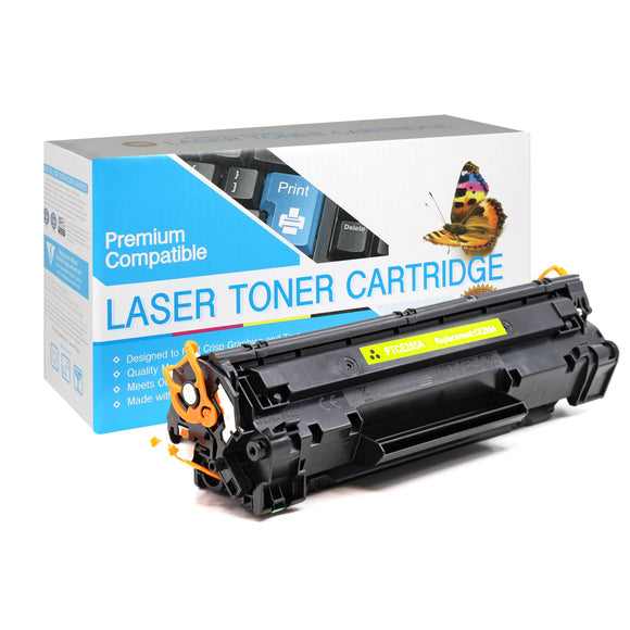 Compatible HP CE285A Black Laser Toner Cartridge (HP 85A) - Brooklyn Toner