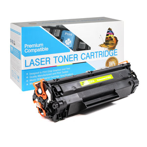 Compatible HP CF283A Black Toner Cartridge (HP 83A) - Brooklyn Toner