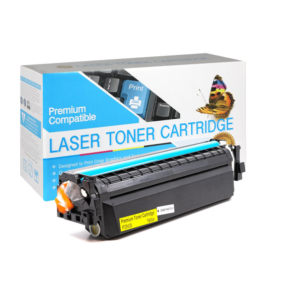 Compatible HP CF412X  Yellow High Yield Toner Cartridge (HP 412X) - Brooklyn Toner