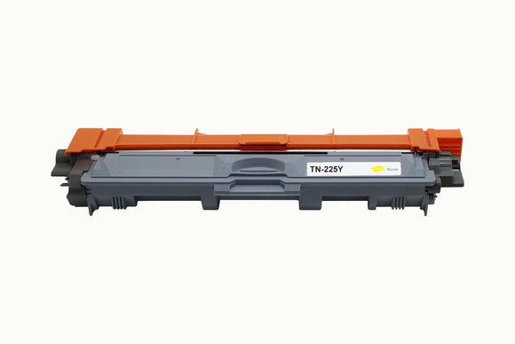 Compatible Brother TN225 Yellow Toner Cartridge (TN-225Y) - Brooklyn Toner