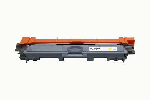 TN225 Yellow Toner Cartridge compatible with the Brother TN-225Y