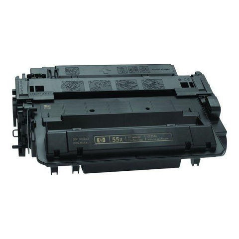 CE255X Black Toner Cartridge compatible with the HP (HP55X)