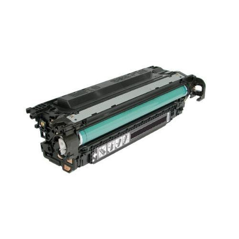 CE400A Black Toner Cartridge compatible with the HP 507A