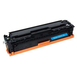 CE411A Cyan Toner Cartridge compatible with the HP 305A