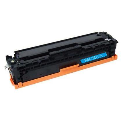 Compatible HP CE411A Cyan Toner Cartridge (HP 305A) - Brooklyn Toner