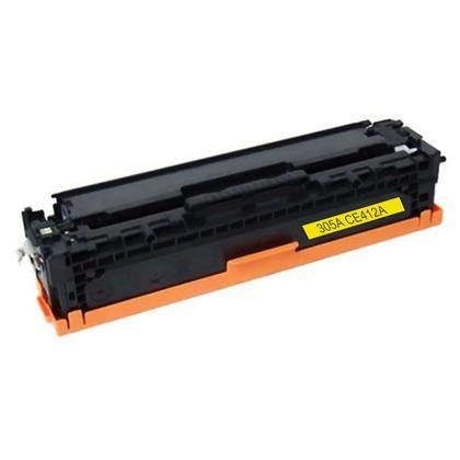 CE412A Yellow Toner Cartridge compatible with the HP 305A