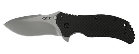 Zero Tolerance 0350SWCF Assisted Open Folding Knife (3.25 Inch Blade)