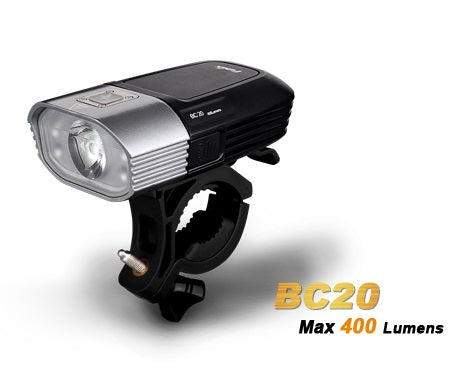 Fenix BC20 4 x AA 2 x CREE XP-G2 R5 400 Lumen LED Bike Light