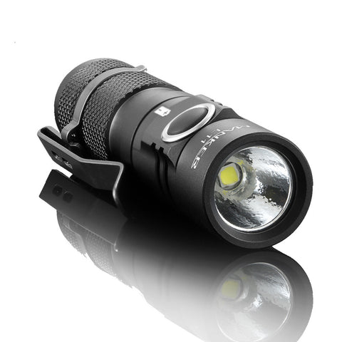 Manker E11 1 X 14500 800 Lumen CREE XP-L LED Flashlight-Cool-White