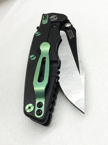 Zero Tolerance 0392BLKGRN Rick Hinderer Black/Green READ NOTES