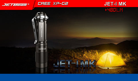 Jetbeam Jet-1 MK 1 x AA 480 Lumen CREE XP-G2 LED Flashlight