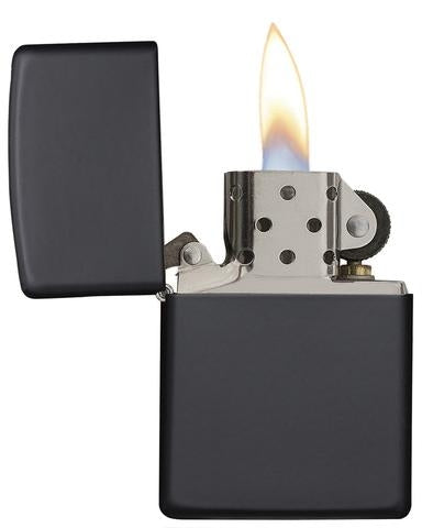Zippo Classic Windproof Lighter - Black Ice