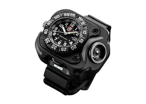 SureFire 2211 Luminox WristLight 300 Lumen Rechargeable Variable-Output LED WristLight + Watch
