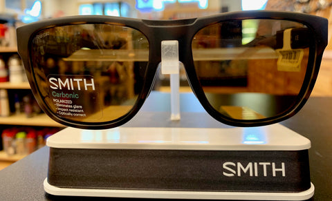 Smith Optics Lowdown Sunglasses - Matte Tortoise/Carbonic Polarized Brown