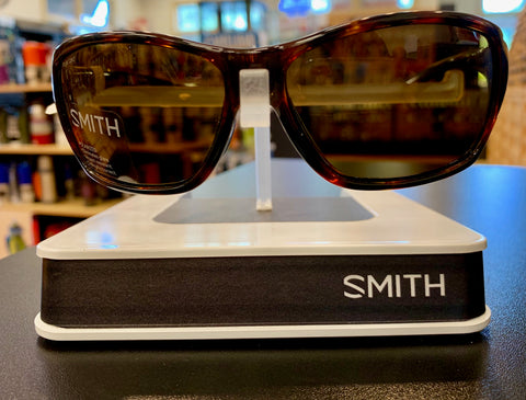 Smith Optics Purist Polarized Sunglasses-Tortoise-Polar Brown