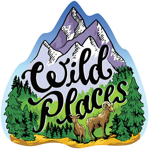 STICKER ART WILD PLACES STICKER