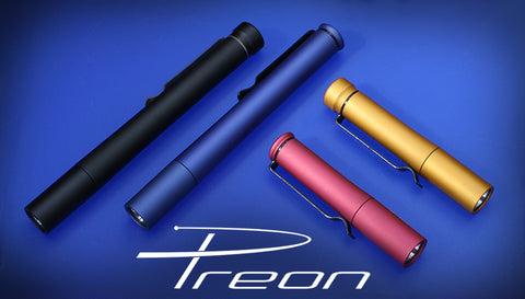4Sevens Preon 2 AAA XP-G Flashlight - Golden Yellow