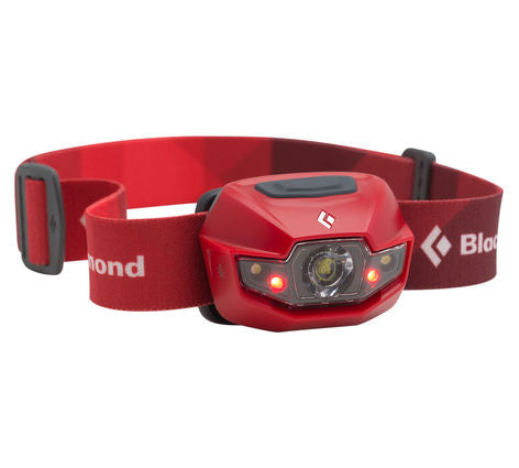 Black Diamond Spot 3 x AAA 130 Lumen LED Headlamp - Fire Red