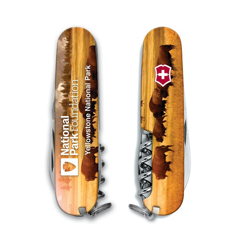 Victorinox Swiss Army National Park Camper Multitool-Yellowstone