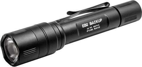 Surefire EB2C Backup 500 Lumen Ultra-High Dual-Output LED Flashlight (Black)