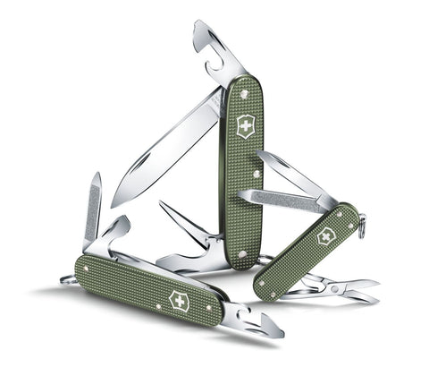 Victorinox Classic Alox Limited Edition 2017 Olive Green Multitool
