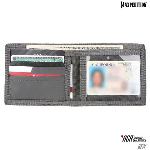 Maxpedition BFW Bi-Fold Wallet (AGR)-Gray