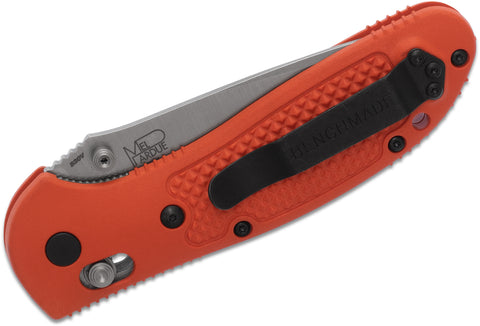 Benchmade Griptilian AXIS Lock Folding Knife - 551-ORG-S30V
