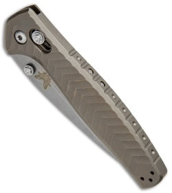 Benchmade 781 Anthem Single-Piece Titanium Handle Folding Knife (3.5 Inch Blade)