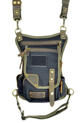 UkoalaBag Yukon-Black/Olive/Brown - Expanded
