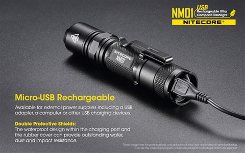 Nitecore NM01 Internal Rechargeable Battery 1000 Lumen