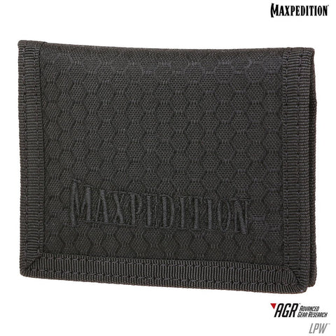 Maxpedition LPW Low Profile Wallet (AGR)-Black