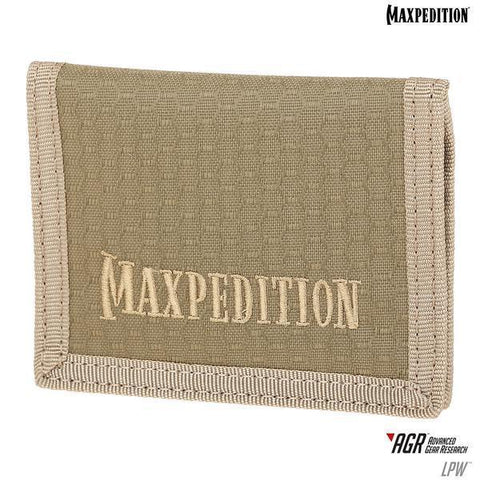 Maxpedition LPW Low Profile Wallet (AGR)-Tan