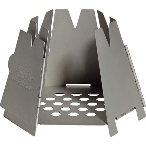 Vargo Stainless Steel Hexagon Backpacking Wood Stove