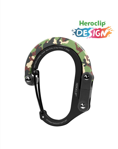 Heroclip Small Carabiner/Hanger - Supports up to 50 lbs